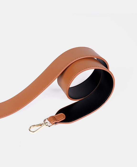 [루나피에나] Wide Strap Black / Brown