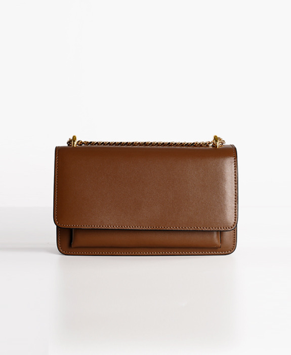 [뮤엘] Madeleine Shoulder bag - Brown