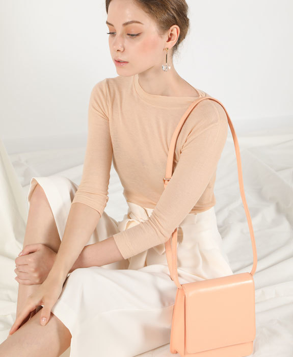 [수에노아] Frio Cross Bag Peach