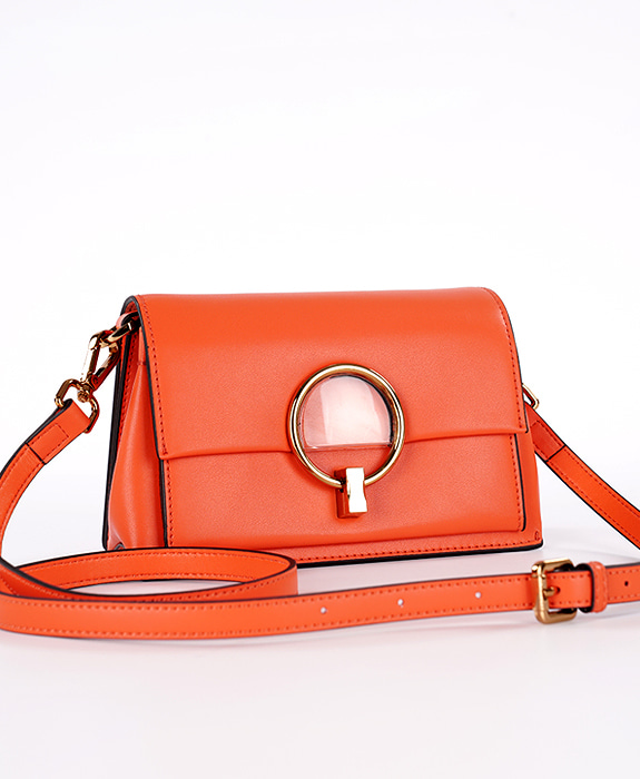 [뮤엘] Rise cross bag - Orange