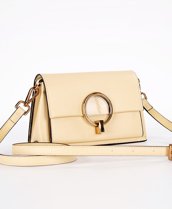 [뮤엘] Rise cross bag - Yellow