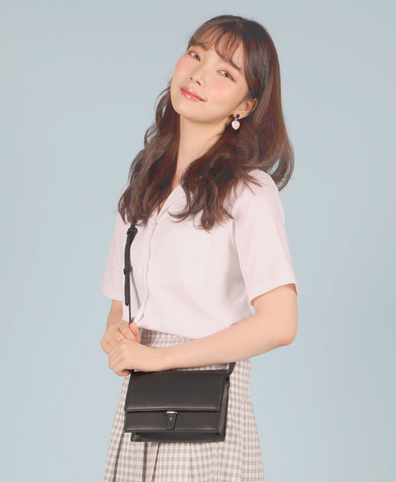 [샐리에리얼] Portia Cross Bag Black