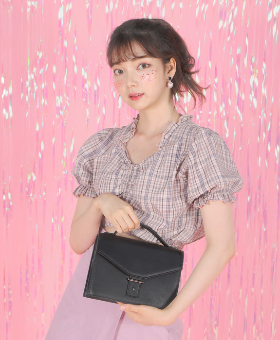 [샐리에리얼] Margaret Tote Bag Black