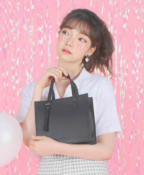[샐리에리얼] Juliet Tote Bag Black