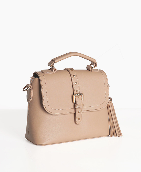 [뮤엘] Hepburn tote cross bag - Beige