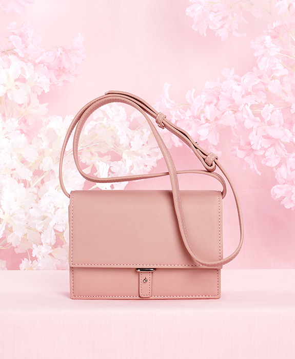 [샐리에리얼] Portia Cross Bag Pink