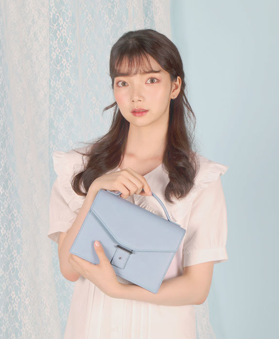 [샐리에리얼] Margaret Tote Bag Blue