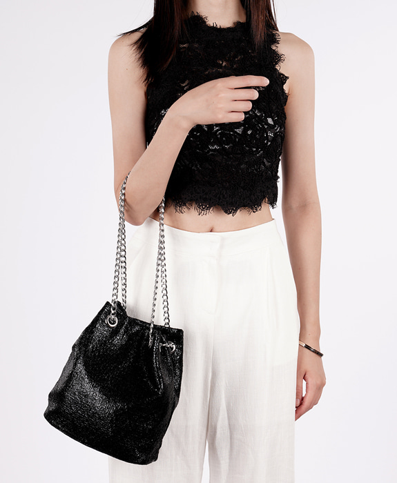 [뮤엘] Twinkle shoulder bag - Black
