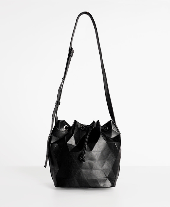 [뮤엘] Mosaic shoulder bag - Black
