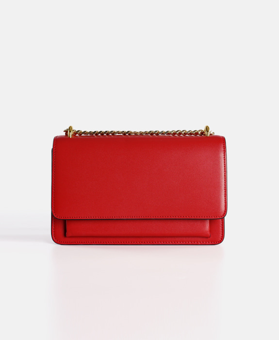 [뮤엘] Madeleine Shoulder bag - Red