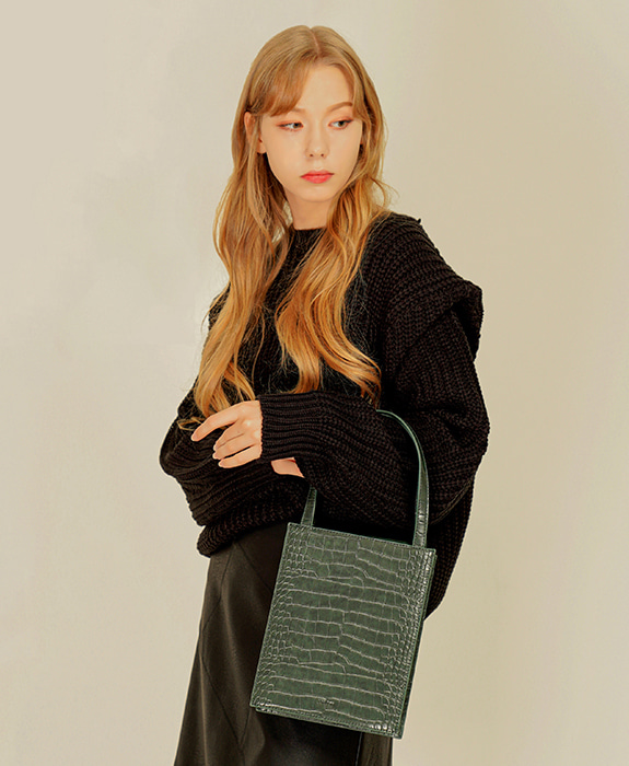 [록체] Lowell Tote Bag Green