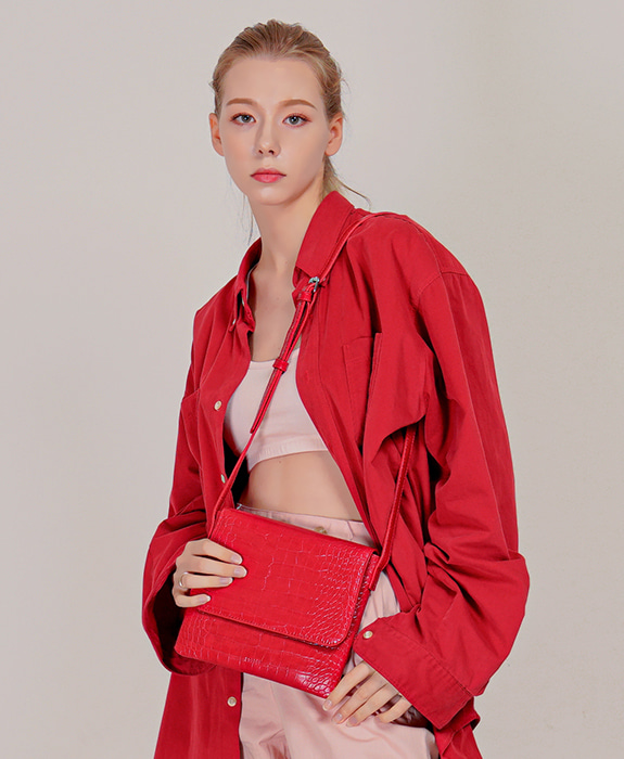 [록체] Reve Shoulder Bag Red