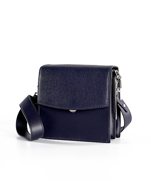 [뮤엘] Cadre Shoulder bag - Navy
