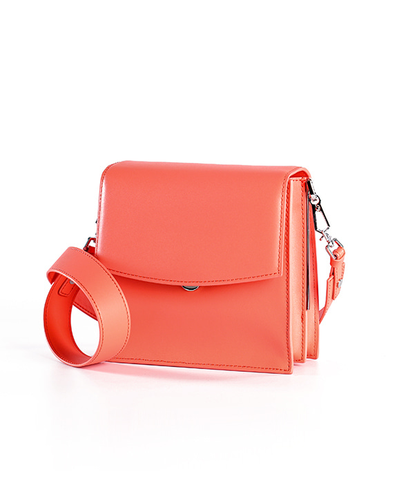 [뮤엘] Cadre Shoulder bag - Peach