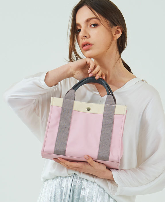 [미뉴뜨] Joy S Canvas Bag - Pink