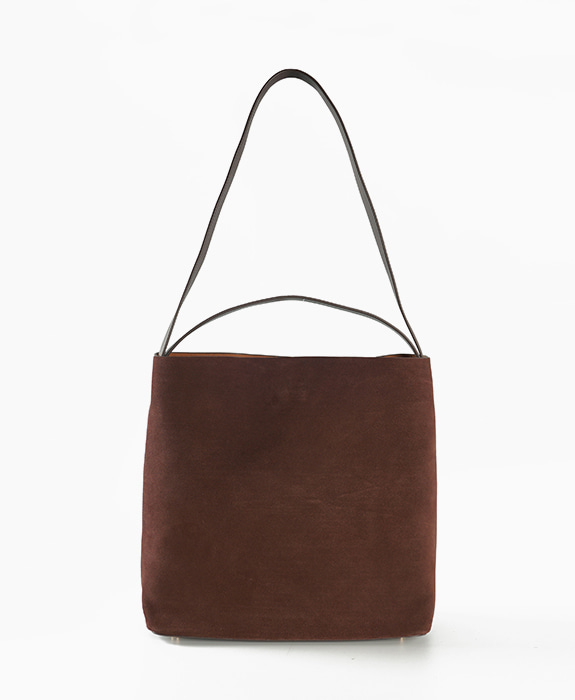 [뮤엘] Mate shoulder bag - Choco Brown