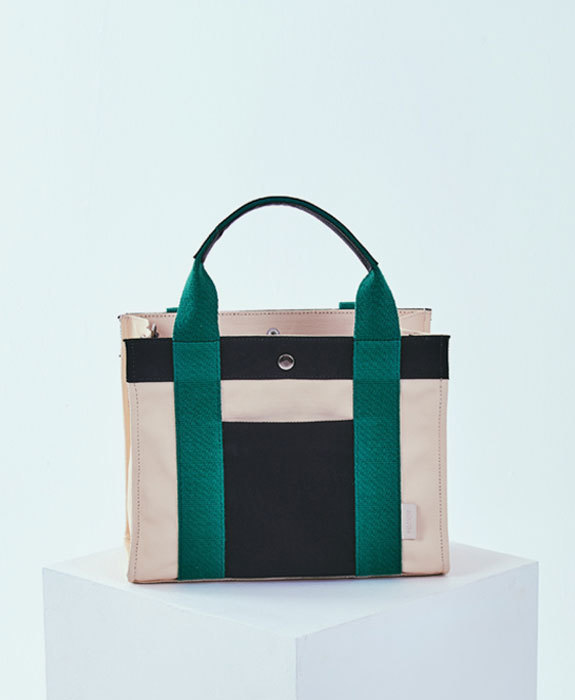 [미뉴뜨] Joy S Canvas Bag - Green