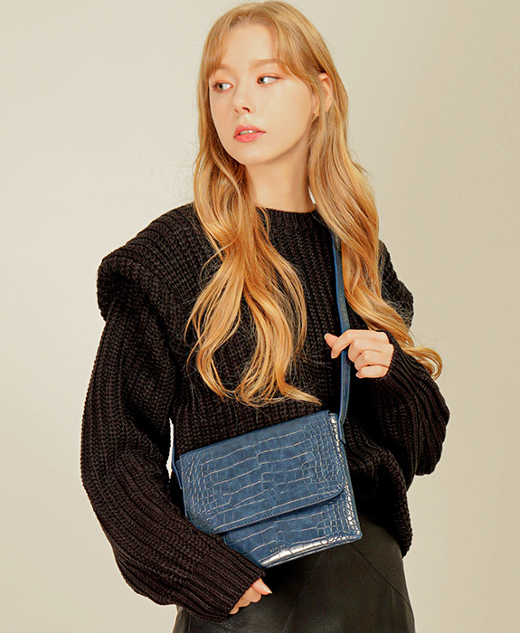 [록체] Reve Shoulder Bag Blue