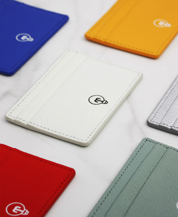 [미뉴뜨] Leather Card Wallet - 6 color