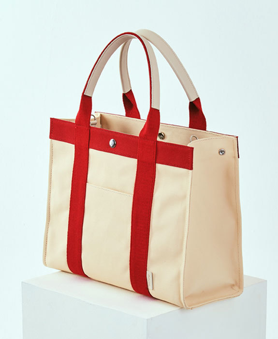 [미뉴뜨] Joy L Canvas Bag - Ivory