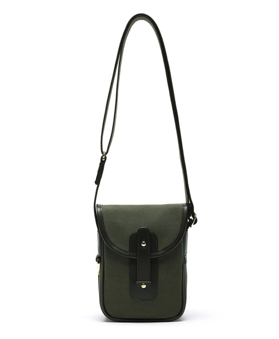 [아날로그무드] Diary Cross Bag Khaki