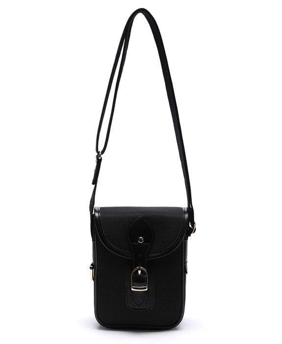 [아날로그무드] Diary Cross Bag Black