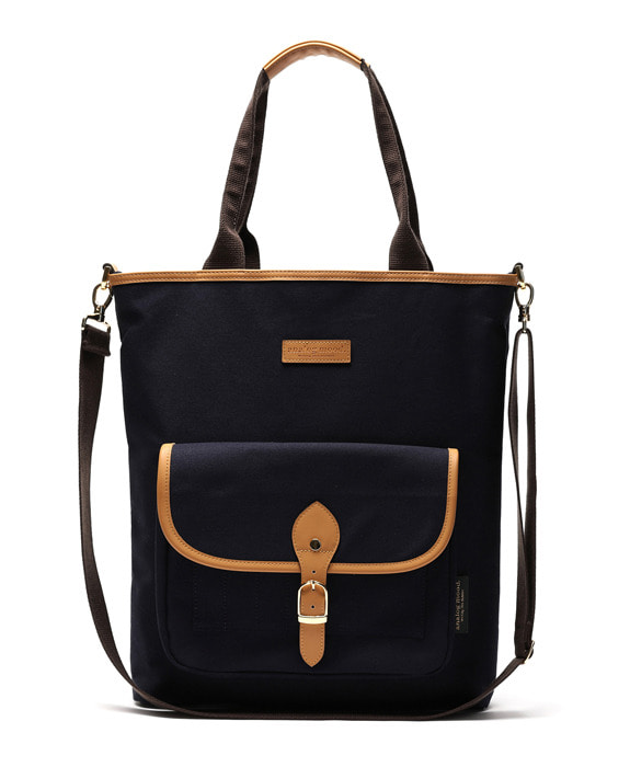 [아날로그무드] Panorama Shoulder Bag Navy