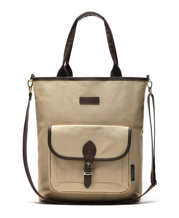 [아날로그무드] Panorama Shoulder Bag Beige