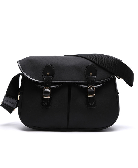 [아날로그무드] Memorial Cross Bag Black