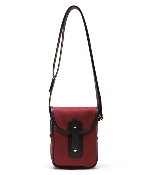[아날로그무드] Diary Cross Bag Wine
