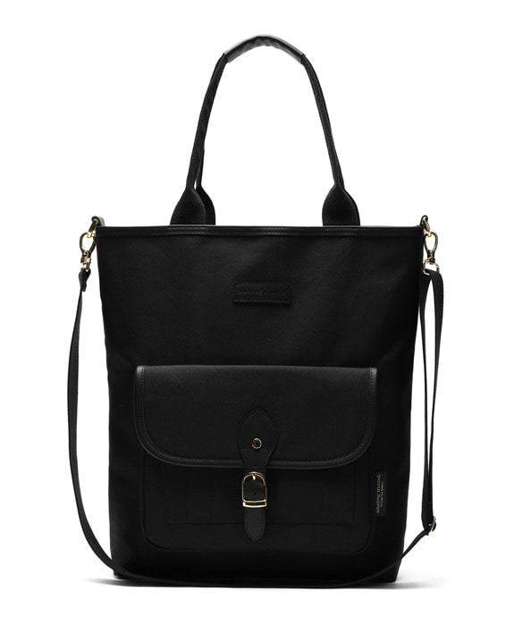 [아날로그무드] Panorama Shoulder Bag Black