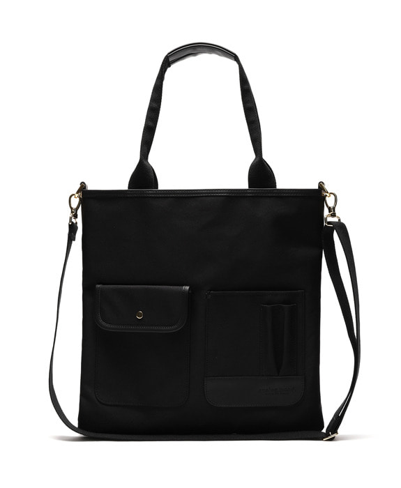 [아날로그무드] Dialog tote Bag Black