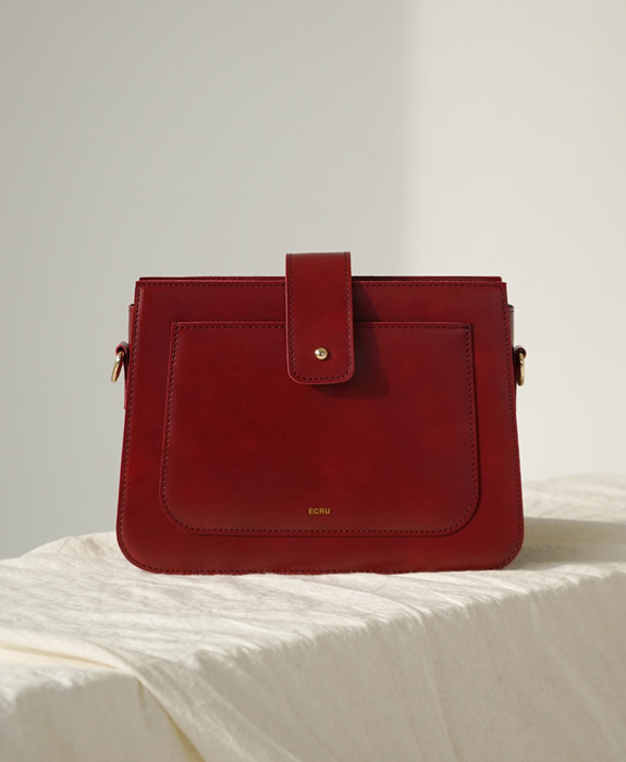 [에크루] Hoyu Bag Burgundy