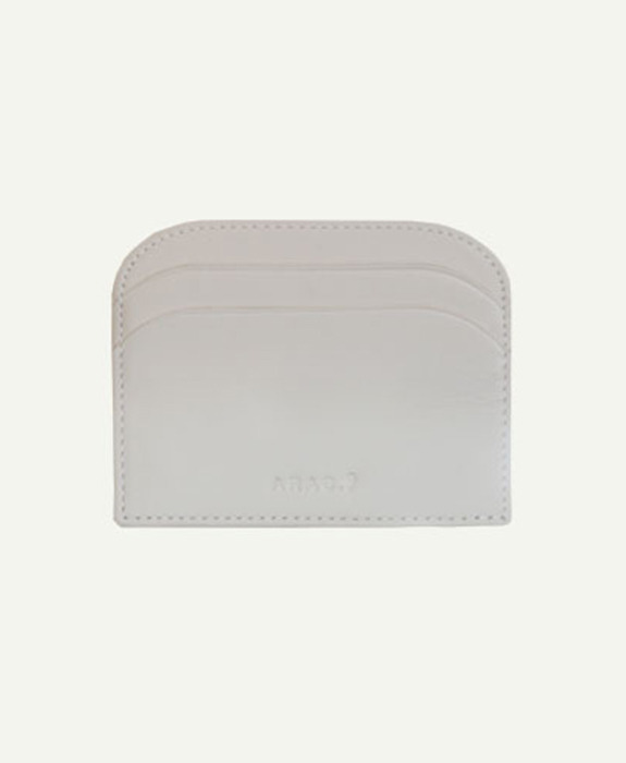 [아라크나인] ARAC MORDON SIMPLE WALLET - ivory