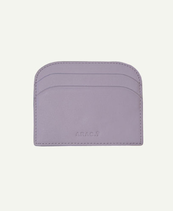 [아라크나인] ARAC MORDON SIMPLE WALLET - light purple