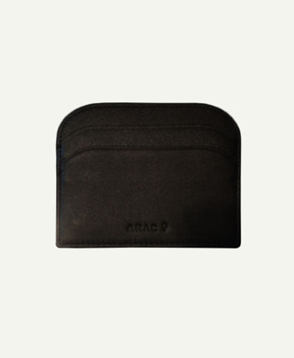 [아라크나인] ARAC MORDON SIMPLE WALLET - black