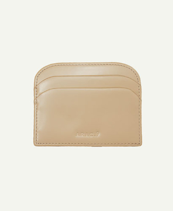 [아라크나인] ARAC MORDON SIMPLE WALLET - beige